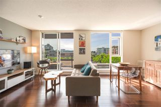 "Main Photo: 704 1650 W 7TH Avenue in Vancouver: Fairview VW Condo for sale in ""VIRTU"" (Vancouver West)  : MLS®# R2377127"