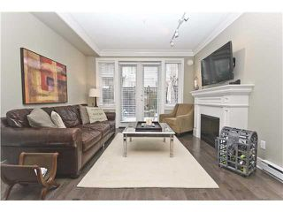 """Photo 3: 2955 LAUREL Street in Vancouver: Fairview VW Townhouse for sale in """"THE BROWNSTONE"""" (Vancouver West)  : MLS®# V880457"""