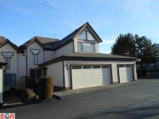 "Photo 1: 2 8567 164TH Street in Surrey: Fleetwood Tynehead Townhouse for sale in ""MONTA ROSA"" : MLS®# F1201188"