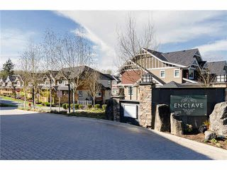 """Photo 1: 34 2979 156TH Street in Surrey: Grandview Surrey Townhouse for sale in """"ENCLAVE"""" (South Surrey White Rock)  : MLS®# F1437051"""