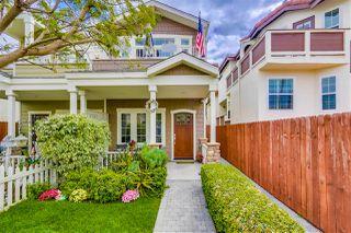 Main Photo: CORONADO VILLAGE Townhome for sale : 3 bedrooms : 755 D Ave in Coronado