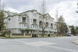 """Photo 1: 211 15268 105 Avenue in Surrey: Guildford Condo for sale in """"GEORGIAN GARDENS"""" (North Surrey)  : MLS®# R2159976"""
