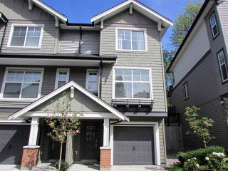 """Photo 1: 10 3470 HIGHLAND Drive in Coquitlam: Burke Mountain Townhouse for sale in """"BRIDLEWOOD"""" : MLS®# R2164105"""