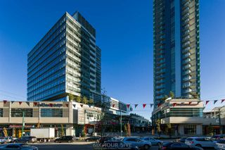 """Photo 1: 2704 488 SW MARINE Drive in Vancouver: Marpole Condo for sale in """"MARINE GATEWAY"""" (Vancouver West)  : MLS®# R2211706"""