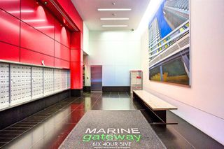 """Photo 3: 2704 488 SW MARINE Drive in Vancouver: Marpole Condo for sale in """"MARINE GATEWAY"""" (Vancouver West)  : MLS®# R2211706"""