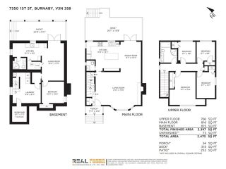 Photo 2: 7350 1ST Street in Burnaby: East Burnaby House for sale (Burnaby East)  : MLS®# R2265021