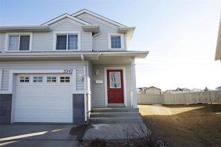 Photo 1: 5547 163 Avenue in Edmonton: Zone 03 House Half Duplex for sale : MLS®# E4164209