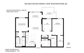 """Photo 20: 208 260 SALTER Street in New Westminster: Queensborough Condo for sale in """"PORTAGE"""" : MLS®# R2428147"""