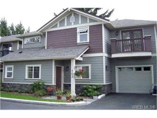 Photo 1: LANGFORD  TOWNHOME / TOWNHOUSE = VICTORIA TOWNHOME Sold With Ann Watley!