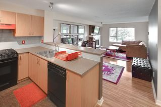 """Photo 1: 214 4723 DAWSON Street in Burnaby: Brentwood Park Condo for sale in """"Collage"""" (Burnaby North)  : MLS®# R2096689"""