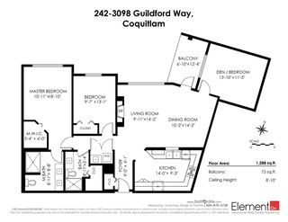 "Photo 20: 242 3098 GUILDFORD Way in Coquitlam: North Coquitlam Condo for sale in ""MARLBOROUGH HOUSE"" : MLS®# R2351167"