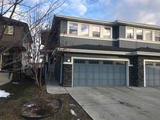 Photo 1: 17722 10 Avenue in Edmonton: Zone 56 House Half Duplex for sale : MLS®# E4154831