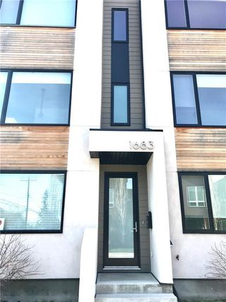 Photo 2: 1683 37 Avenue SW in Calgary: Altadore Row/Townhouse for sale : MLS®# C4285730