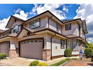 "Photo 1: 19 15959 82ND Avenue in Surrey: Fleetwood Tynehead Townhouse for sale in ""Cherry Tree Lane"" : MLS®# F1439528"