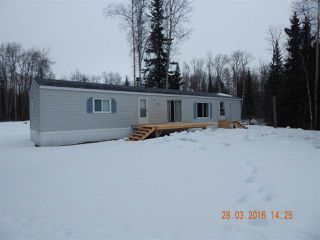 "Main Photo: 24460 NESS LAKE Road: Ness Lake Manufactured Home for sale in ""NESS LAKE, RURAL NORTH"" (PG Rural North (Zone 76))  : MLS®# R2040140"