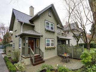 Photo 1: 183 W 13TH Avenue in Vancouver: Mount Pleasant VW Townhouse for sale (Vancouver West)  : MLS®# R2041356