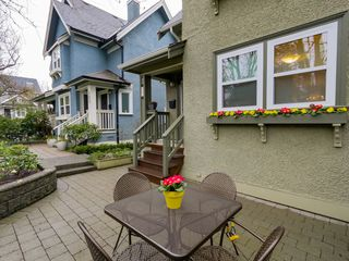 Photo 3: 183 W 13TH Avenue in Vancouver: Mount Pleasant VW Townhouse for sale (Vancouver West)  : MLS®# R2041356