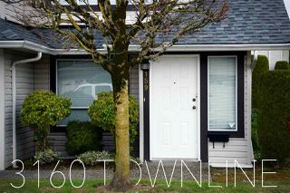 """Main Photo: 159 3160 TOWNLINE Road in Abbotsford: Abbotsford West Townhouse for sale in """"SouthPoint Ridge"""" : MLS®# R2148883"""