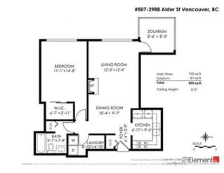 Photo 19: 507 2988 ALDER Street in Vancouver: Fairview VW Condo for sale (Vancouver West)  : MLS®# R2266140
