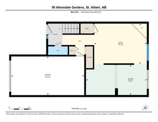 Photo 36: 50 AKINSDALE Gardens: St. Albert Townhouse for sale : MLS®# E4221692