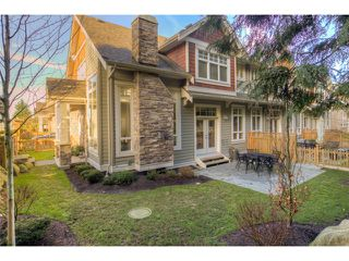 Photo 1: 8 2456 163RD Street in Surrey: Grandview Surrey Townhouse for sale (South Surrey White Rock)  : MLS®# F1401180