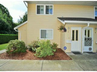 """Photo 1: 7 32286 7TH Avenue in Mission: Mission BC Townhouse for sale in """"Luther Place"""" : MLS®# F1430357"""