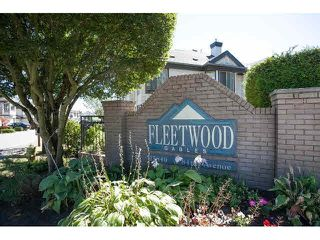 "Photo 1: 43 15840 84TH Avenue in Surrey: Fleetwood Tynehead Townhouse for sale in ""Fleetwood Gables"" : MLS®# F1448780"