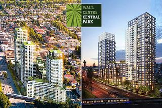 "Photo 1: 2005 5515 BOUNDARY Road in Vancouver: Collingwood VE Condo for sale in ""WALL CENTRE"" (Vancouver East)  : MLS®# R2168373"