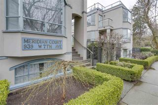 "Photo 1: 7 939 W 7TH Avenue in Vancouver: Fairview VW Townhouse for sale in ""Meridian Court"" (Vancouver West)  : MLS®# R2252663"