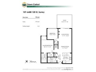 "Photo 20: 107 6688 120 Street in Surrey: West Newton Condo for sale in ""Salus"" : MLS®# R2312472"