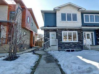 Main Photo: 10977 76 Avenue in Edmonton: Zone 15 House Half Duplex for sale : MLS®# E4150308