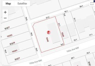 Main Photo: 9352 103A Avenue in Edmonton: Zone 13 Vacant Lot for sale : MLS®# E4154923