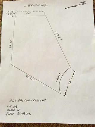 Photo 2: 24 FALCON Crescent: St. Albert Vacant Lot for sale : MLS®# E4162479