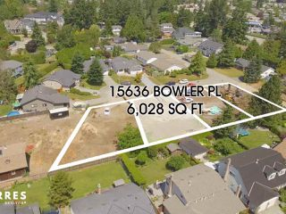 Photo 1: 15636 BOWLER Place in Surrey: King George Corridor Land for sale (South Surrey White Rock)  : MLS®# R2384979