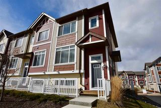 Photo 1: 69 320 SECORD Boulevard in Edmonton: Zone 58 Townhouse for sale : MLS®# E4184078