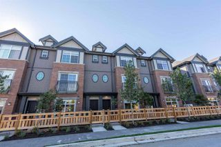 Photo 1: 72 7191 LECHOW Street in Richmond: McLennan North Townhouse for sale : MLS®# R2496678