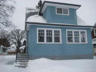 Photo 1: 236 MANDEVILLE Street in WINNIPEG: St James Residential for sale (West Winnipeg)  : MLS®# 1106062
