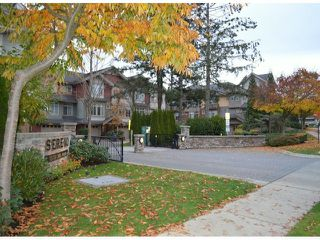"Photo 1: 58 15151 34TH Avenue in Surrey: Morgan Creek Townhouse for sale in ""SERENO"" (South Surrey White Rock)  : MLS®# F1402501"