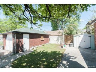 Photo 16: 736 Clifton Street in WINNIPEG: West End / Wolseley Residential for sale (West Winnipeg)  : MLS®# 1412953