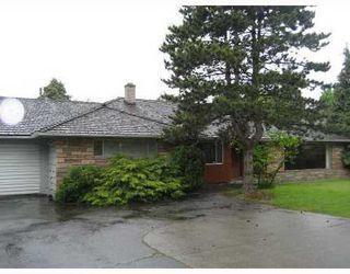 Photo 1: 4615 GRANVILLE Street: Shaughnessy Home for sale ()  : MLS®# V714021