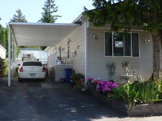 "Photo 1: 187 3665 244 Street in Langley: Otter District Manufactured Home for sale in ""LANGLEY GROVE ESTATES"" : MLS®# R2197599"