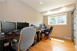 Photo 13: A 596 Langholme Drive in VICTORIA: Co Wishart North Strata Duplex Unit for sale (Colwood)  : MLS®# 394573