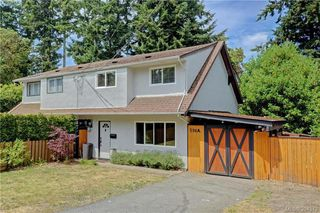 Photo 1: A 596 Langholme Drive in VICTORIA: Co Wishart North Strata Duplex Unit for sale (Colwood)  : MLS®# 394573