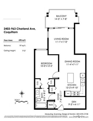 "Photo 20: 2403 963 CHARLAND Avenue in Coquitlam: Central Coquitlam Condo for sale in ""CHARLAND"" : MLS®# R2313880"