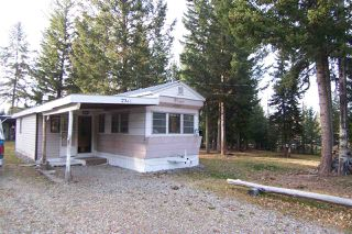 Main Photo: 2741 PINNACLES Road in Quesnel: Bouchie Lake Manufactured Home for sale (Quesnel (Zone 28))  : MLS®# R2316799