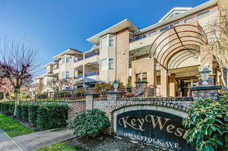 "Photo 1: 106 1999 SUFFOLK Avenue in Port Coquitlam: Glenwood PQ Condo for sale in ""Key West"" : MLS®# R2330864"