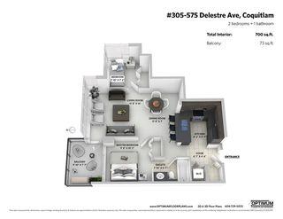 "Photo 20: 305 575 DELESTRE Avenue in Coquitlam: Coquitlam West Condo for sale in ""Cora"" : MLS®# R2336429"