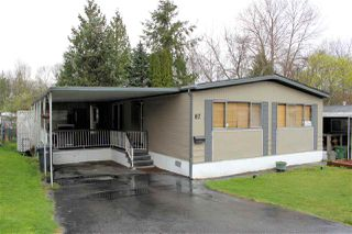 "Main Photo: 87 8220 KING GEORGE Boulevard in Surrey: Bear Creek Green Timbers Manufactured Home for sale in ""CRESTWAY BAYS"" : MLS®# R2332872"