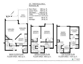 "Photo 20: 19 7400 MINORU Boulevard in Richmond: Brighouse South Townhouse for sale in ""MINORU ESTATES"" : MLS®# R2361356"