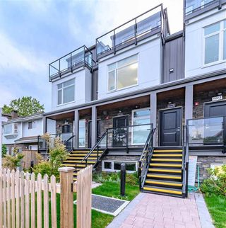 Main Photo: 5067 EARLES Street in Vancouver: Collingwood VE Townhouse for sale (Vancouver East)  : MLS®# R2402851